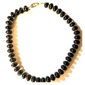 🌷Napier Black Beaded (Shorter) Necklace